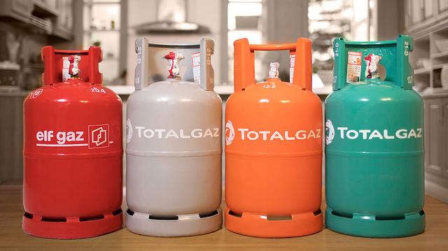 gas tptal gas 12kg